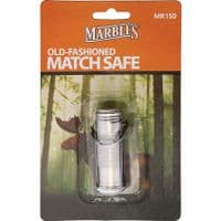 Marbles Waterproof Stainless Steel Match Safe